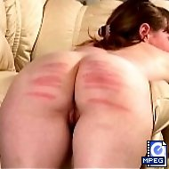 Harsh punishments for a young russian hottie on her big round ass