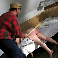 Brutal caning punishments for school girls' fillthy behaviour